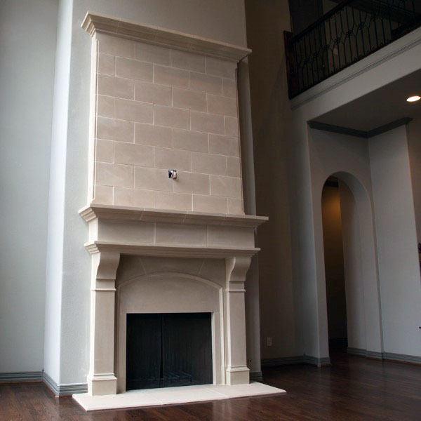 Elegant Stone Fireplace Design Inspiration