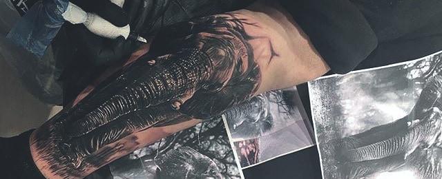 Elephant Tattoo Designs For Men