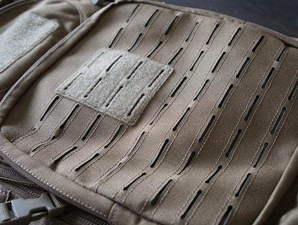 Elite Survival Systems Pulse 24 Hour Backpack Exterior Laser Cut Molle Attachement Panel