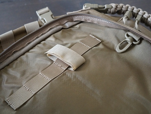 Elite Survival Systems Pulse 24 Hour Backpack Interior Attachement Point