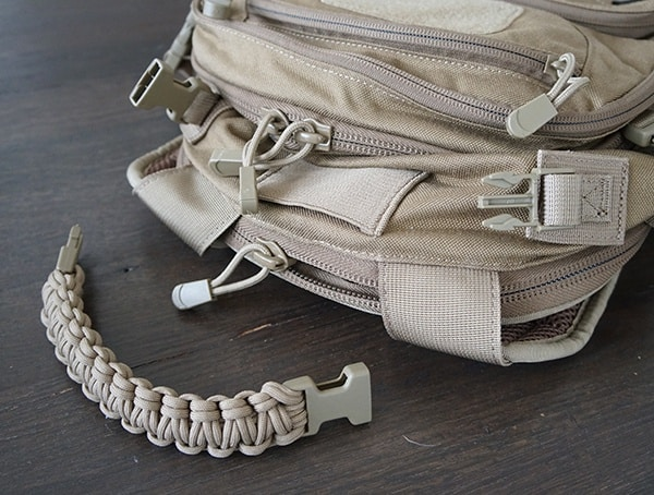 Elite Survival Systems Pulse 24 Hour Backpack Removeable Paracord Pull Carry Handle