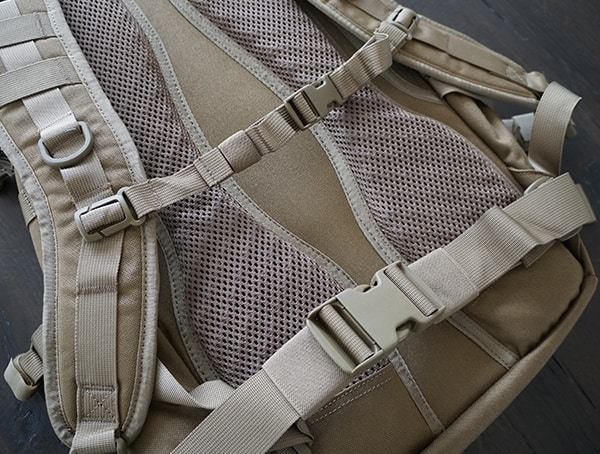 Elite Survival Systems Pulse 24 Hour Backpack Sternum And Waist Straps