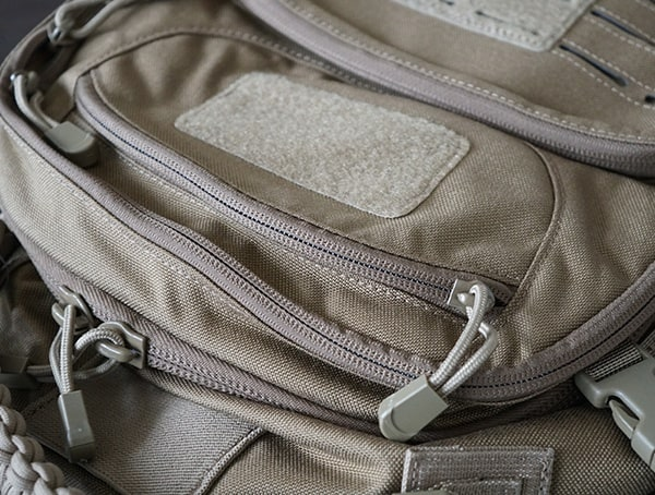Elite Survival Systems Pulse 24 Hour Backpack Top Exterior Pocket