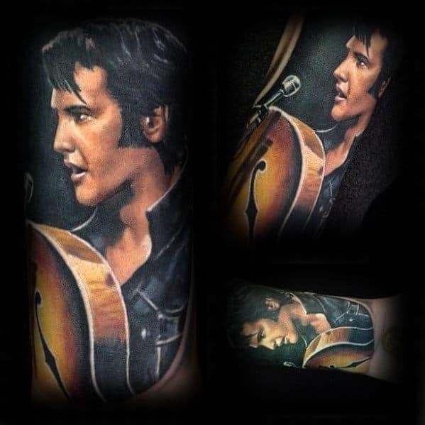 Elvis Presley Male Tattoo Designs