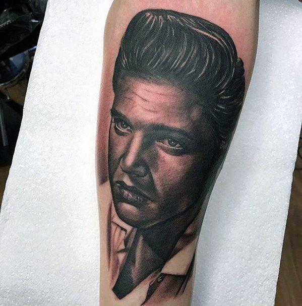 Elvis Presley Mens Tattoo Ideas