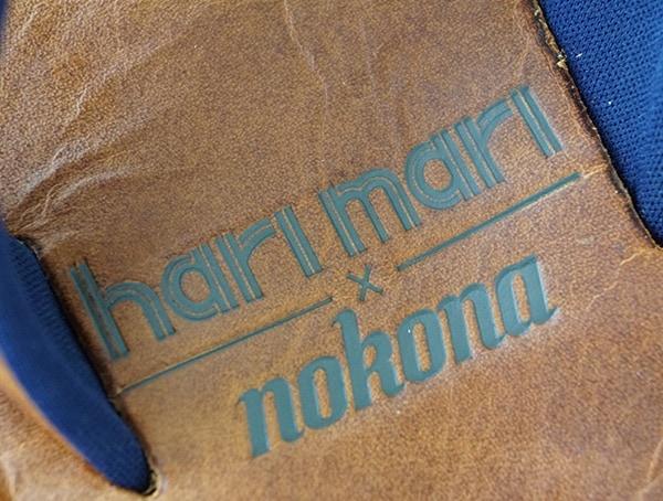 Embossed Leather Mens Hari Mari X Nokona Sandals
