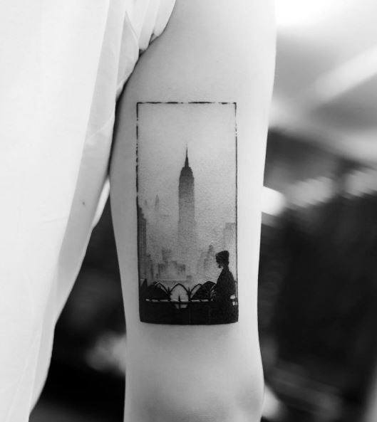Empire State Building Tattoos For Men