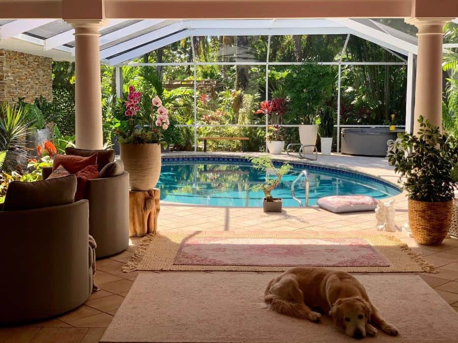 Enclosed Pool Lanai Room Ideas Jennlane35