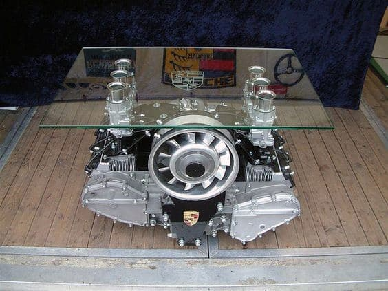 Engine Block Coffee Table For Man Cave Furniture Ideas