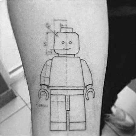 Engineering Male Tattoos