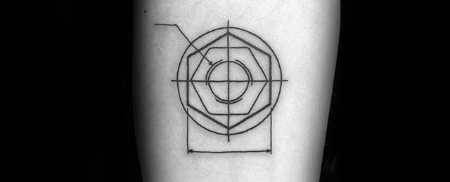 Engineering Tattoo Designs For Men