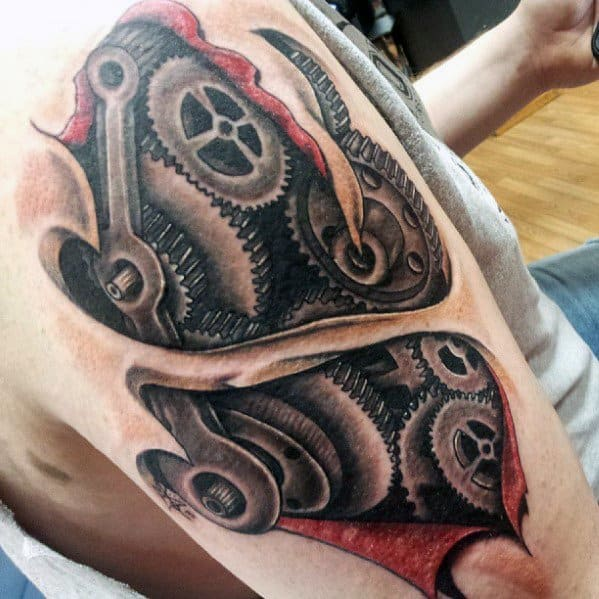 Engineering Tattoo Ideas For Males