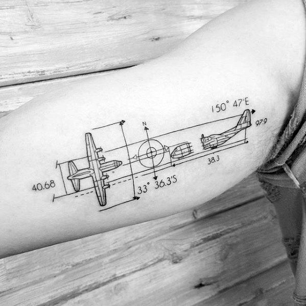 Engineering Tattoos For Gentlemen