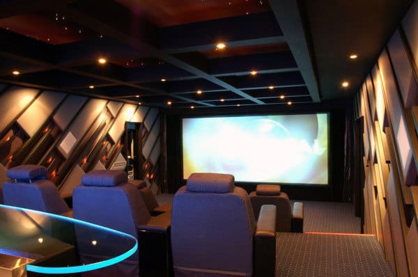 Home Theater Design Ideas 80 Home Theater Design Ideas For Men  Movie Room Retreats