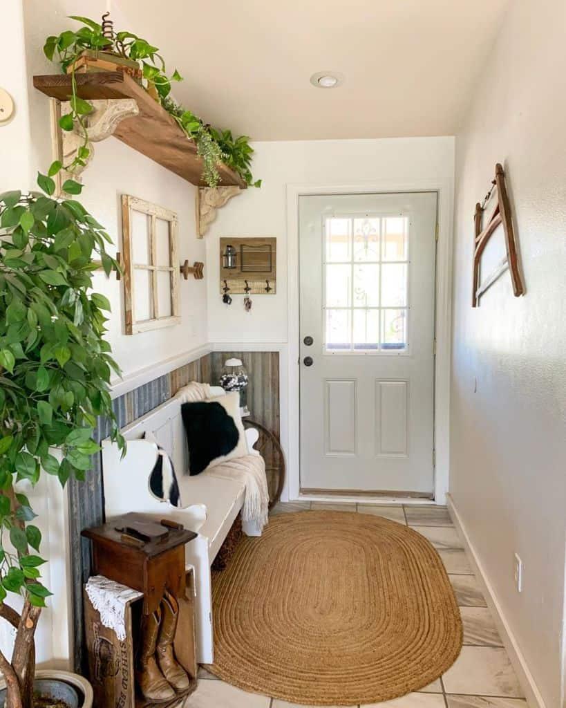 Entryway Modern Farmhouse Decor Buffalolanehomestead