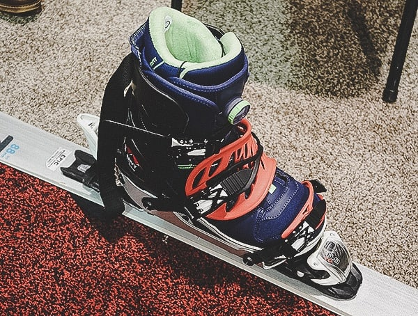 Envy Snowsports Ski Boot Frame For Using Snowboard Boots With Skis