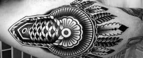 40 Epaulette Tattoo Designs For Men – Ornamental Shoulder Ink Ideas