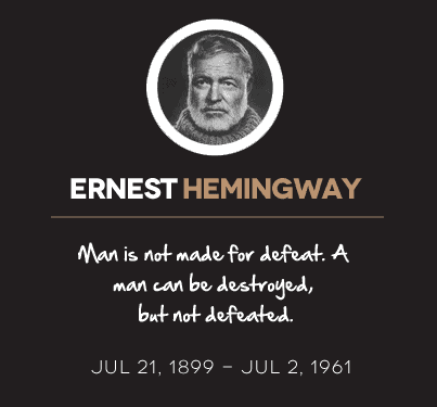 ernest hemingway life goes on for a restless man Ernest hemingway the old man and the sea two important women in hemingway's life restless travelling.