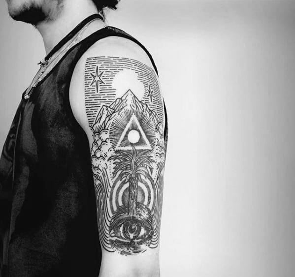 Esoteric Tattoo Designs For Guys