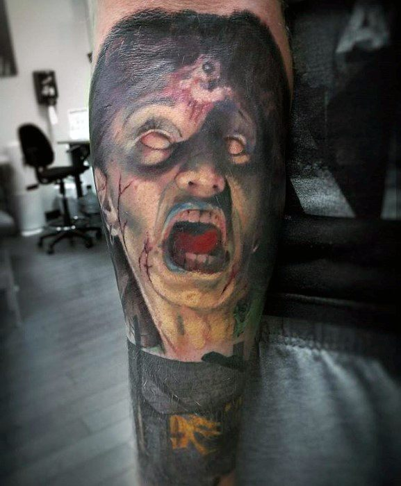 Evil Dead Guys Tattoos