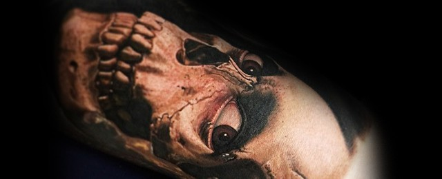 70 Evil Dead Tattoo Designs For Men – Book Of The Dead Ink Ideas