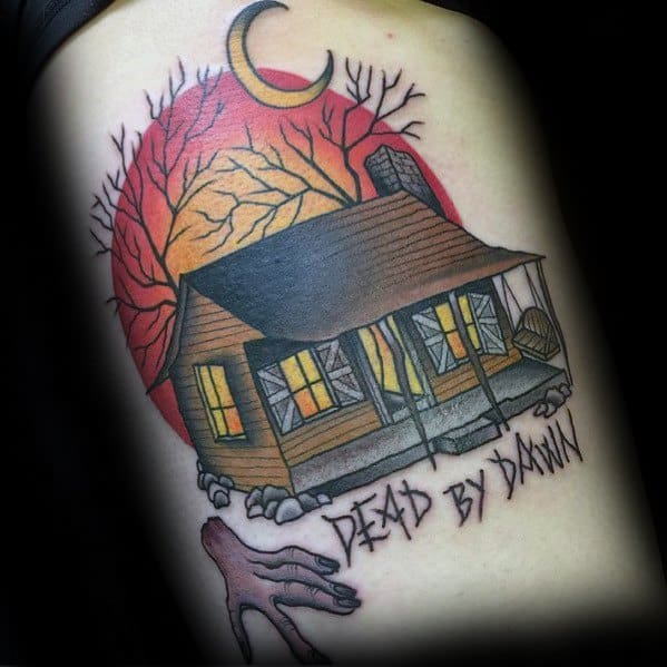 Evil Dead Tattoos Men