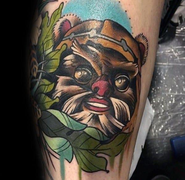 Ewok Guys Tattoo Designs