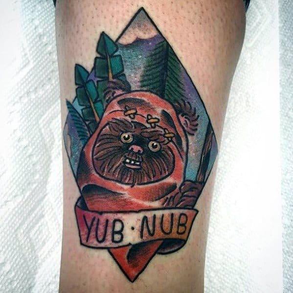 Ewok Guys Tattoo Ideas