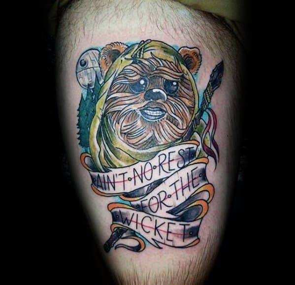 Ewok Guys Tattoos