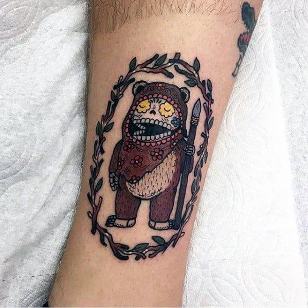 Ewok Male Tattoos