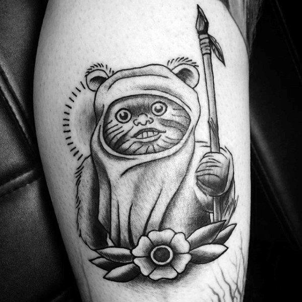 Ewok Mens Tattoo Designs