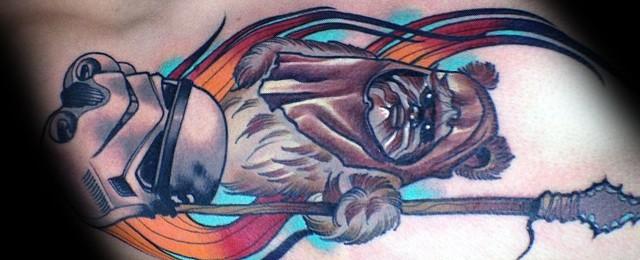 Ewok Tattoos For Men
