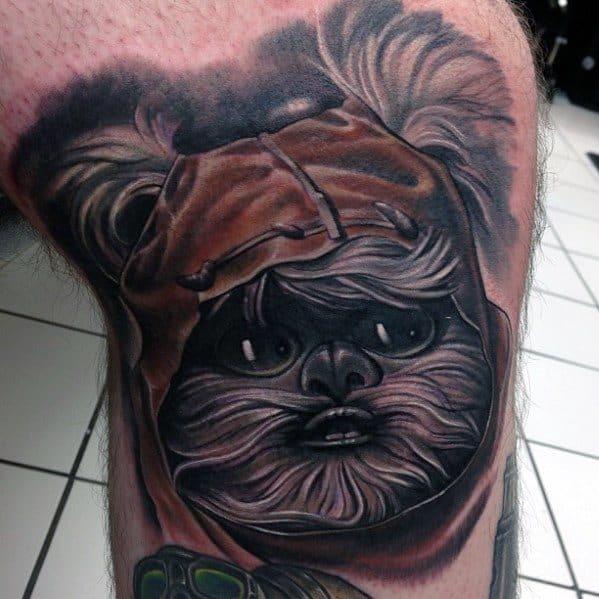 Ewok Tattoos Male