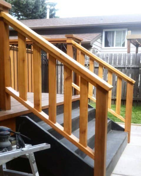 Excellent Backyard Ideas Deck Railing