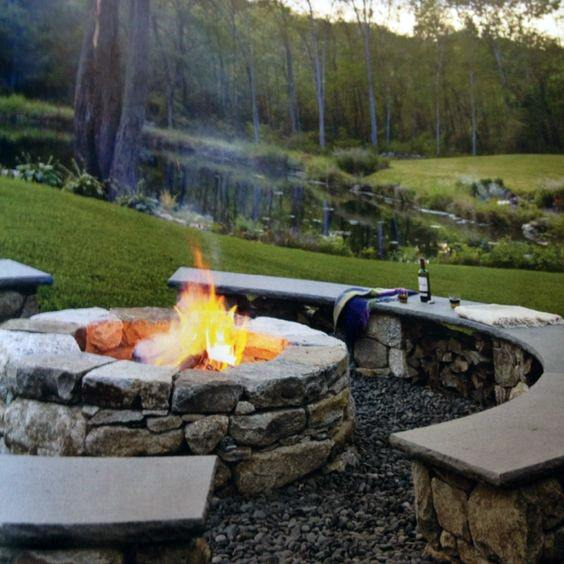 Excellent Backyard Ideas Fire Pit Seating