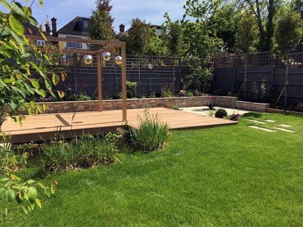 Excellent Backyard Ideas Floating Deck
