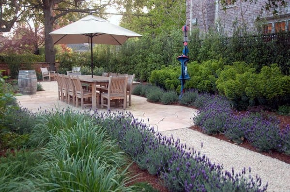 Excellent Backyard Ideas Gravel Walkway And Patio