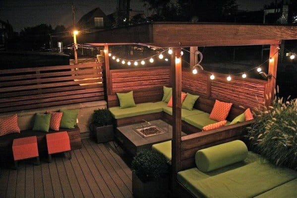 Excellent Backyard Ideas Patio String Lights