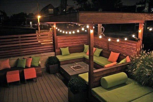 Top 40 Best Patio String Light Ideas - Outdoor Lighting ... on Patio Light Design Ideas id=65090