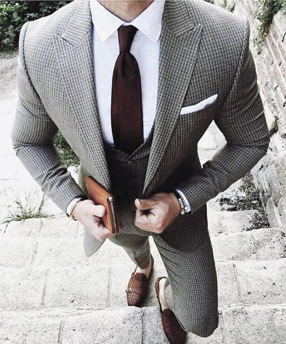 Excellent Charcoal Grey Suit Brown Shoes Styles For Men