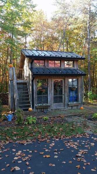 Excellent Exterior Ideas Backyard Shed