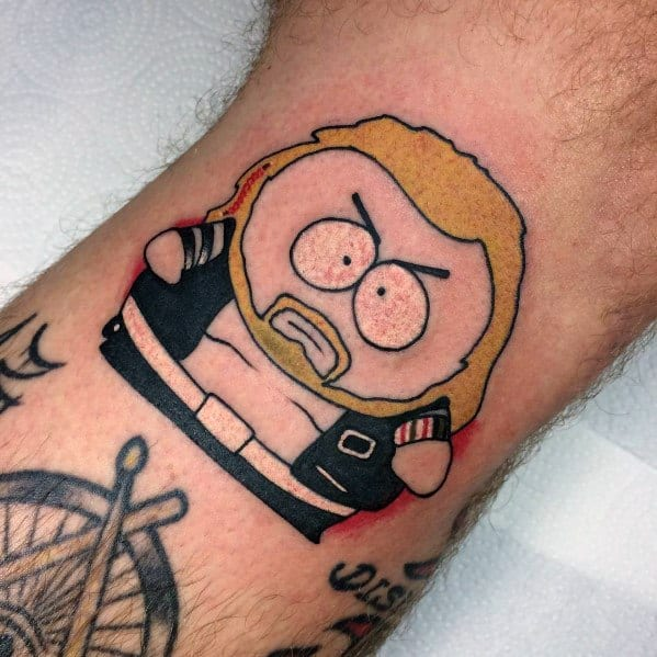 Excellent Guys Cartman South Park Tattoos