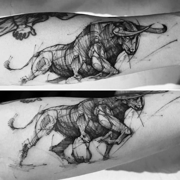 Excellent Guys Cow Tattoos