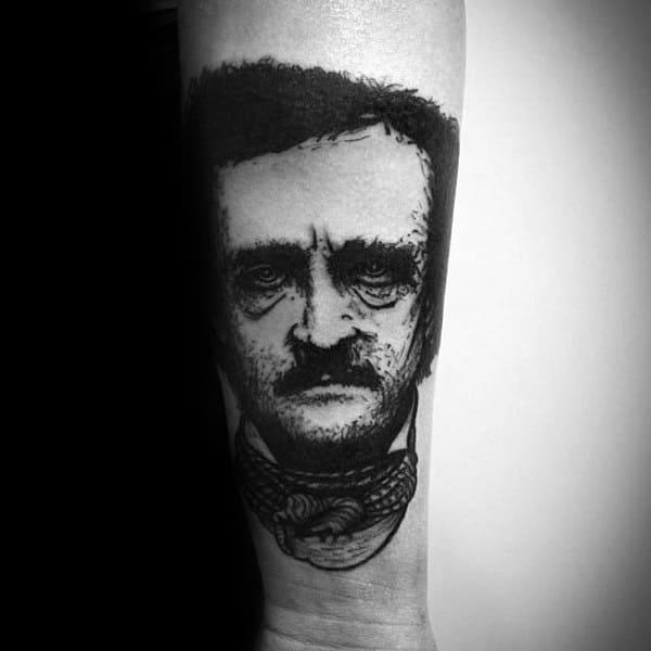 Excellent Guys Edgar Allan Poe Tattoos