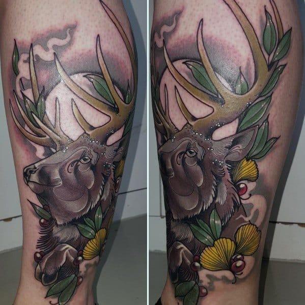 Excellent Guys Elk Tattoos