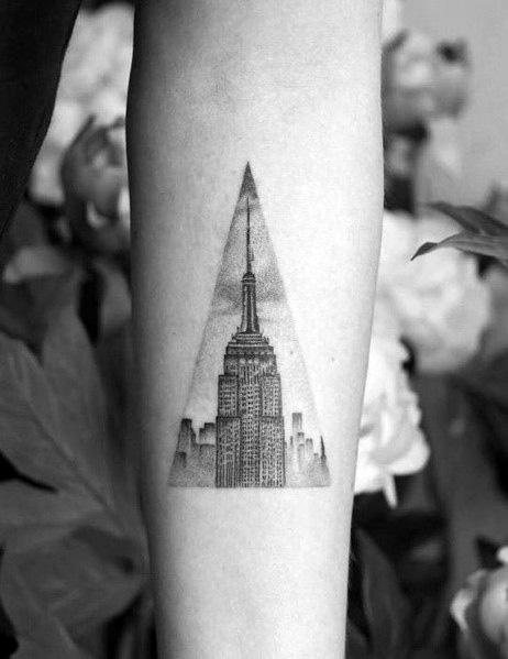 Excellent Guys Empire State Building Tattoos