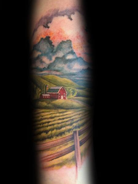 Excellent Guys Farming Tattoos