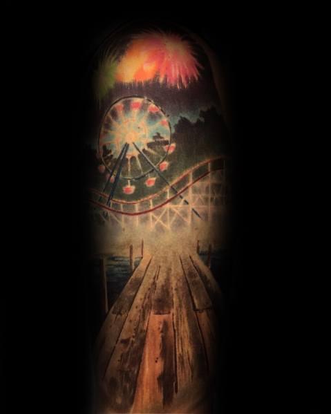 Excellent Guys Ferris Wheel Tattoos