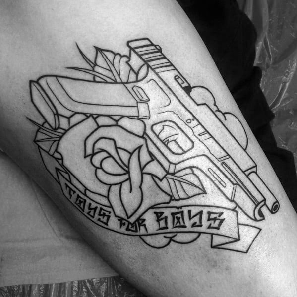Excellent Guys Glock Tattoos