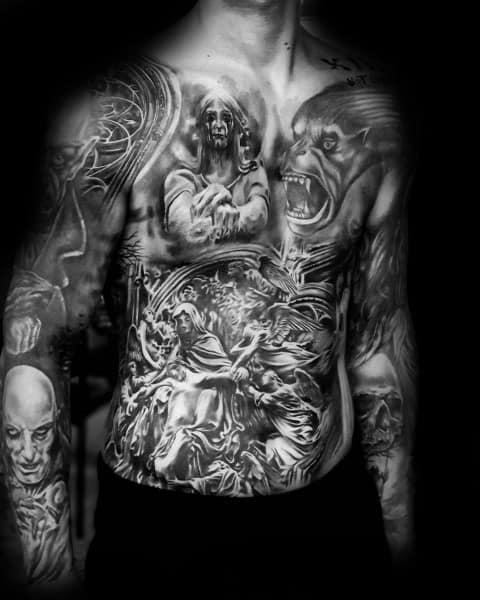 Dark Body Art Design Ideas